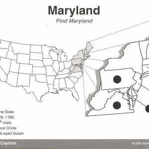 Hot Dots Maryland Card 1 click to enlarge