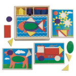 Melissa and Doug Beginner Puzzles and Pattern Blocks