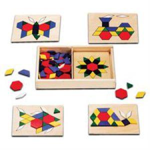 Pattern Boards with Pattern Blocks