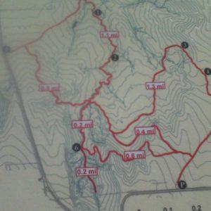 Map of Paint Mines Interpretive Park