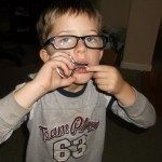 Ethan learning how the play the Jaw Harp