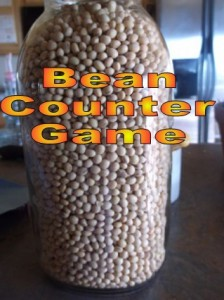 The Bean Counter Game Jar