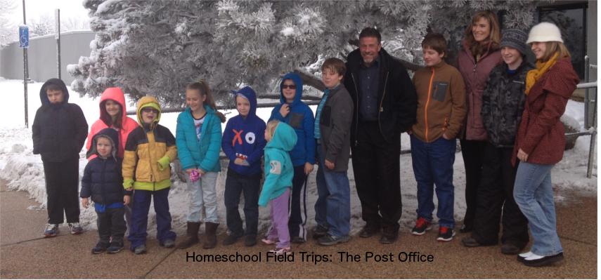 Homeschool Field Trips: The Post Office
